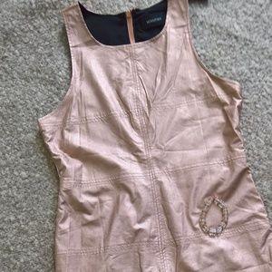 Minkpink Tinsel Town Dress Rose Gold